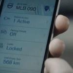 llave del vehículo en el Smartphone