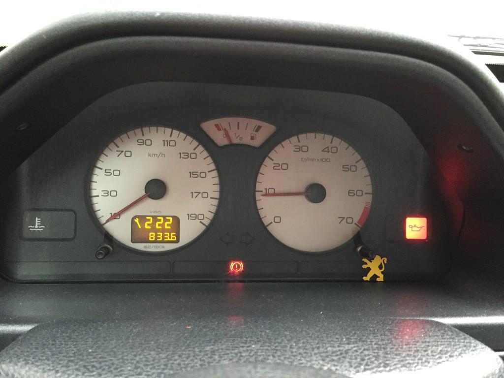 Fallo de presión en el aceite del coche