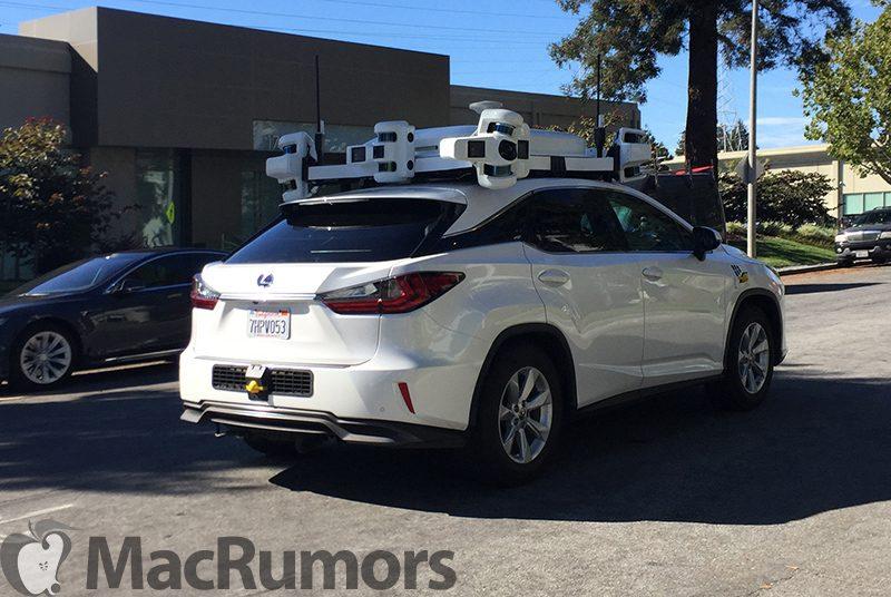Apple prueba en un Lexus su sistema de conducción autónoma