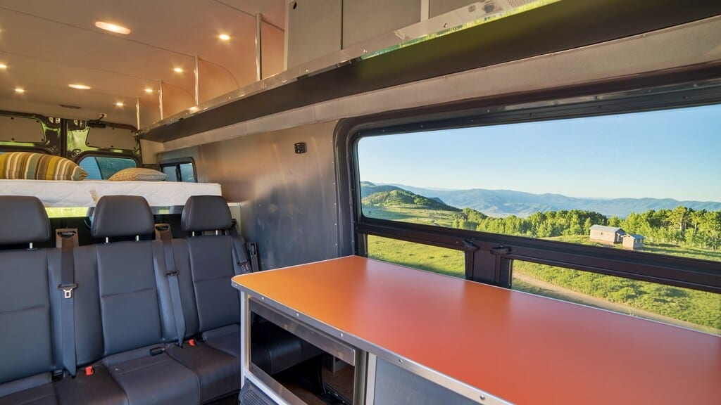 4x4 Mercedes Sprinter Custom Camper