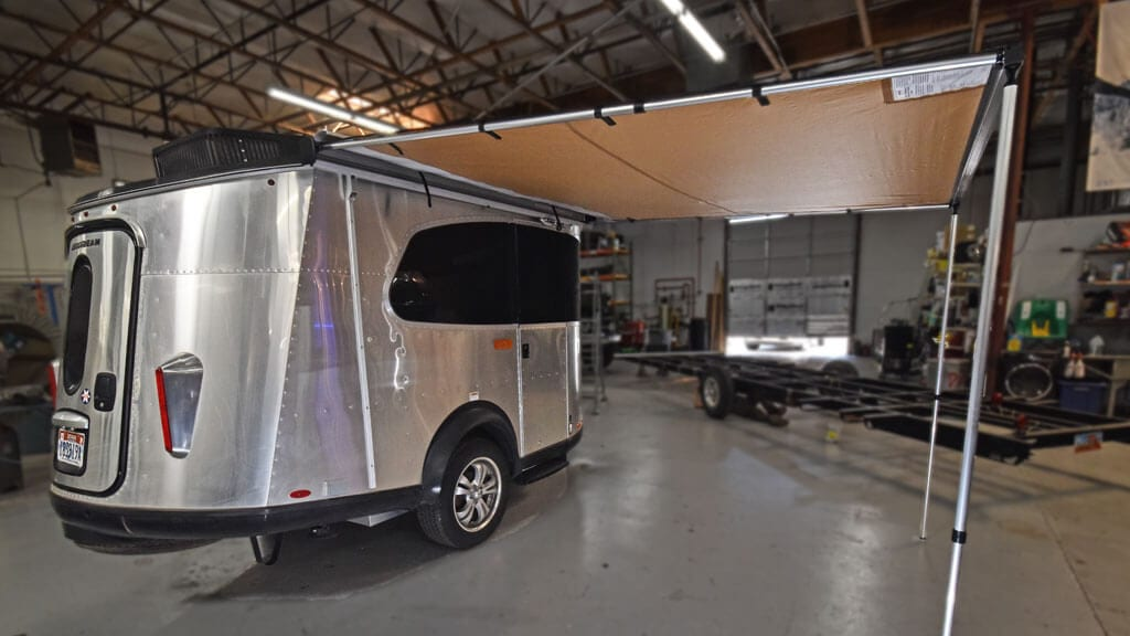 Airstream Basecamp with ARB Awning