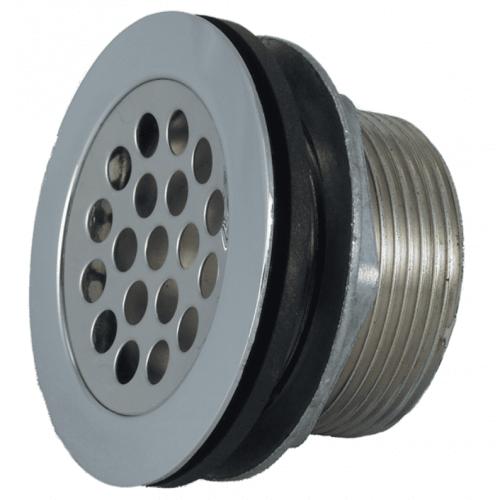 Shower drain strainer for RV