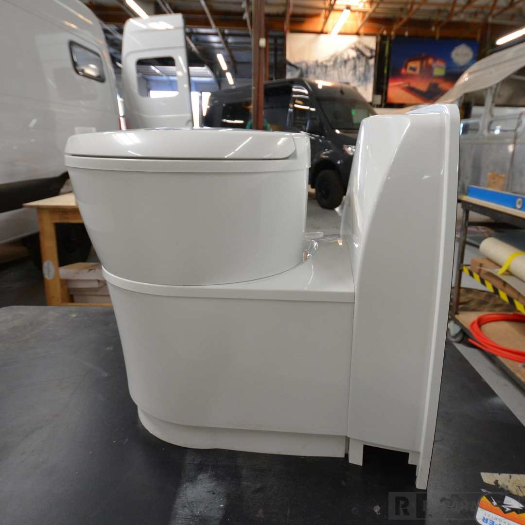 Toilet for camper Van