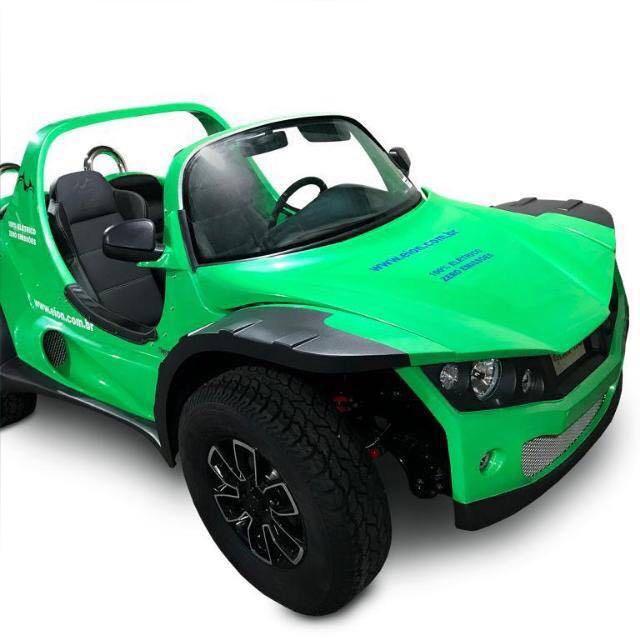 buggy elétrico verde