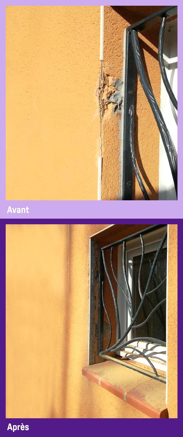 Réparation de menuiserie PVC et alu par Gailhard Création de Saint Sulpice dans le Tarn