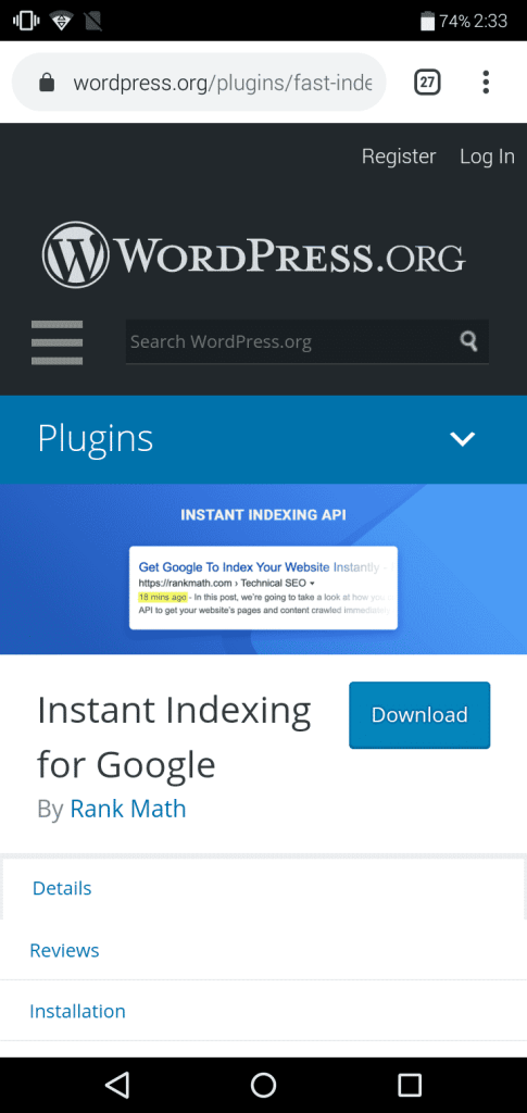how to instantly get indexed on Google after posting