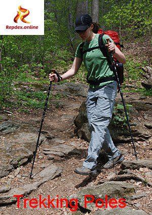 quicksand escape gadgets: trekking poles