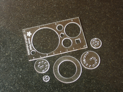 spirograph business card
