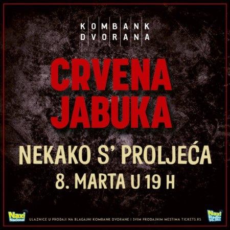 Crvena Jabuka Kombank Dvorana Koncert