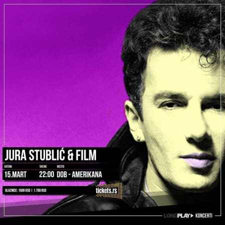Koncert Jura Stublić Film Dom Omladine Koncerti