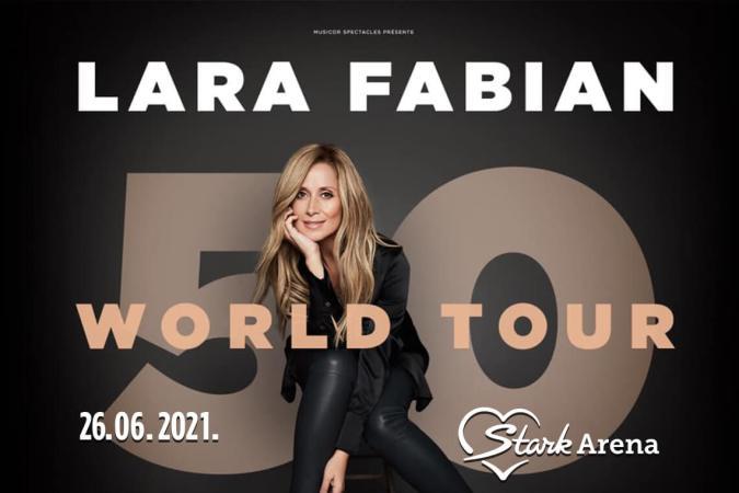 Lara Fabian Koncert Štark Arena Koncerti