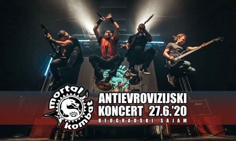 Mortal Kombat Antievrovizijski pčakat Koncert 2020