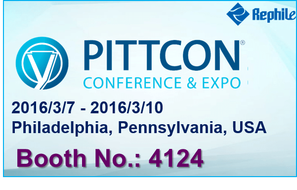 RephiLe Next Event:Pittcon 2016