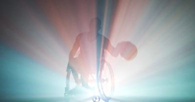 Wheelchair Basketball. In the studio. : sports
