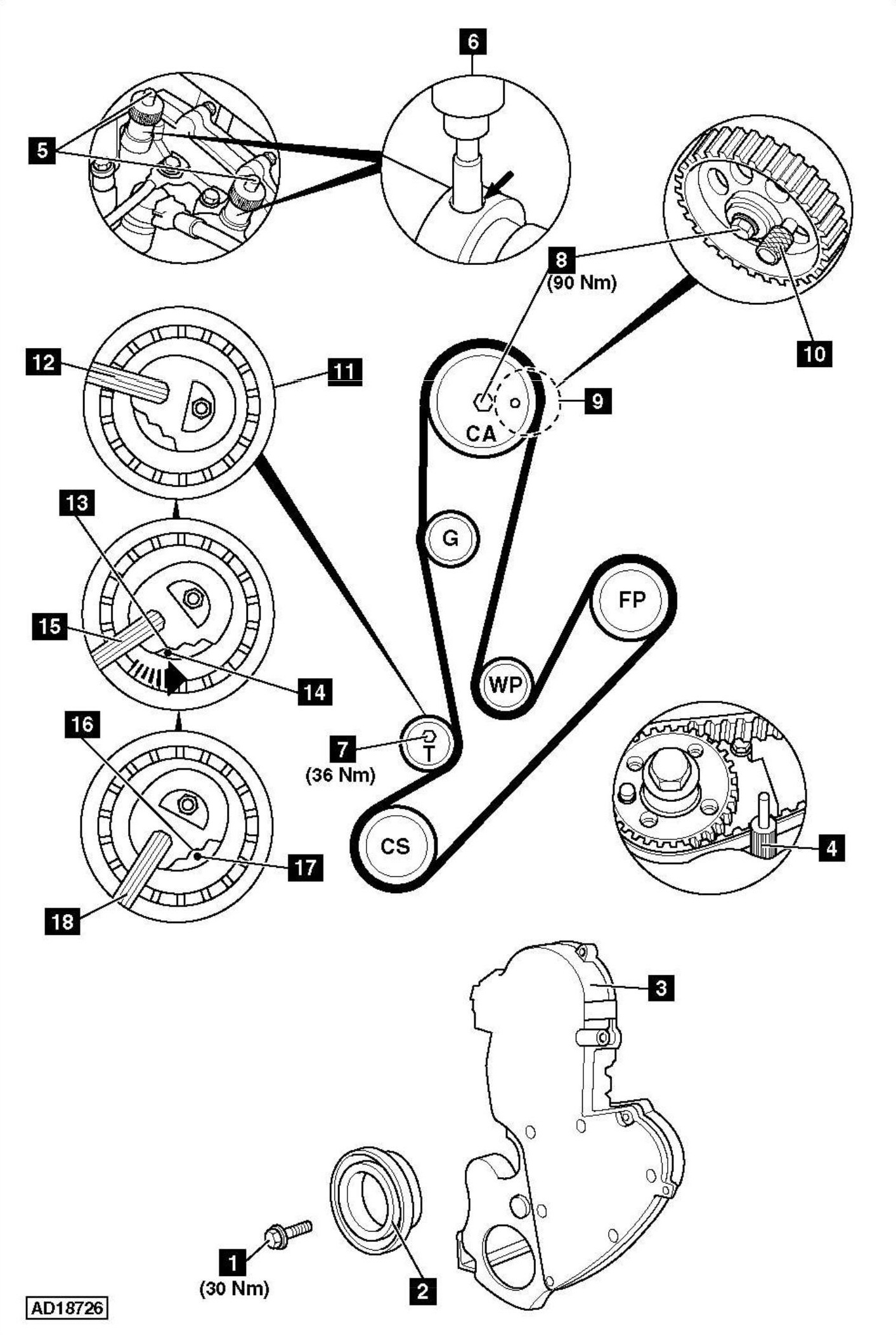 Service Manual How To Replace Timing Belt On A