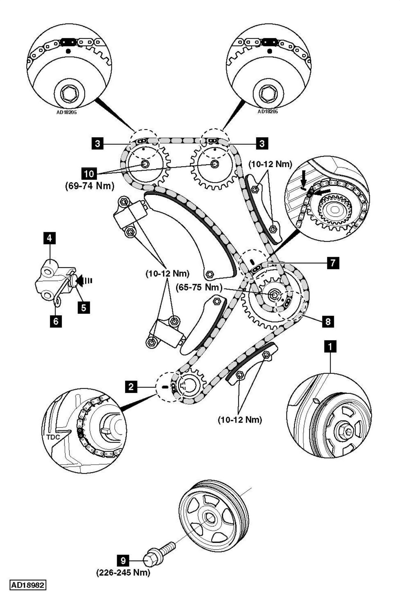 Hyundai Santa Fe Timing Belt Replacement Diagram