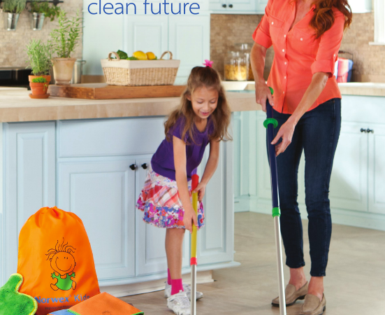 Inspiring & Teaching Children to Clean