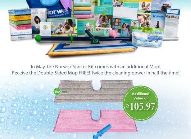The Norwex Kit just got even more A-MAY-ZING!!!  May ONLY!