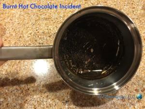 Burnt Pan (Hot Chocolate Incident)