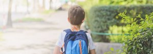 back-to-school boy backpack non-toxic green