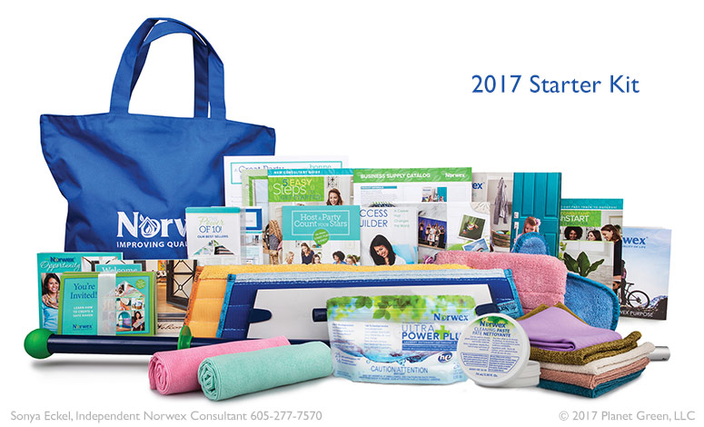 Norwex 2017 Party Starter Kit