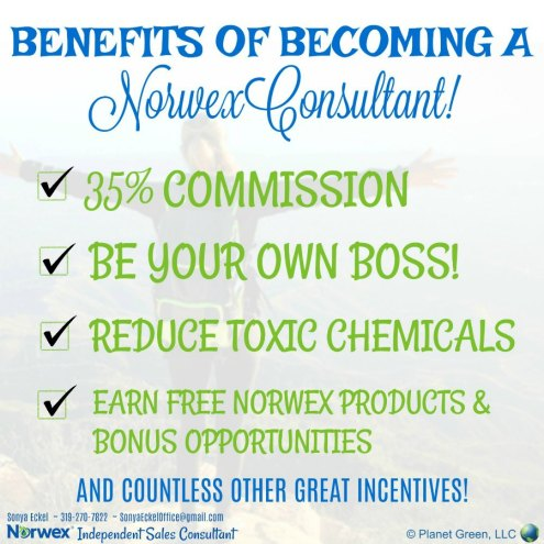 Become a Norwex Consultant with Sonya Eckel as your Norwex mentor