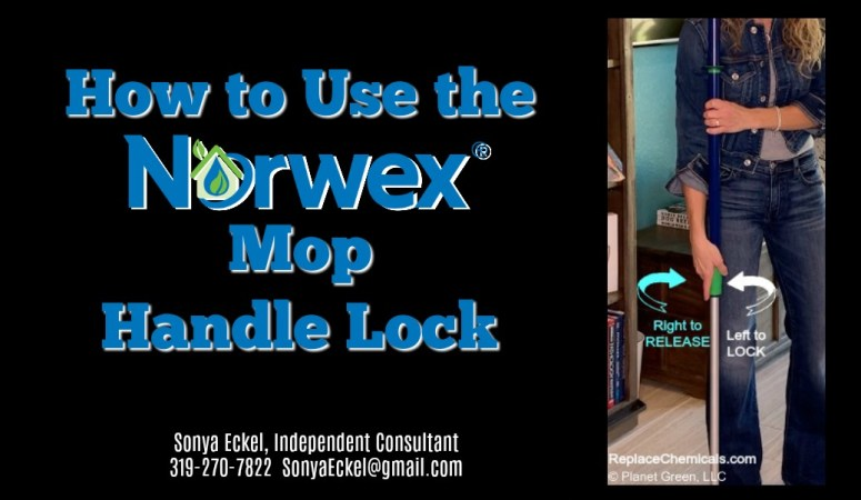 How the Norwex Mop Handle Works