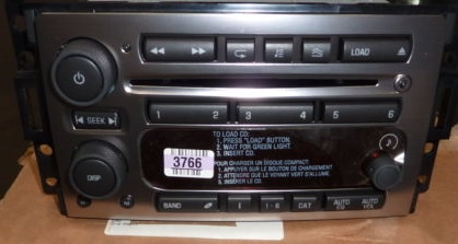 H3 2006 CD6 XM Ready Radio 15913497 NEW Blem