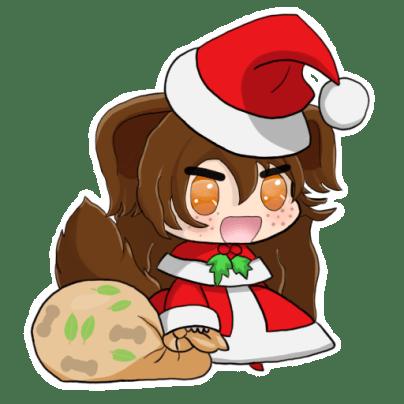 Christmas Padoru Nina by Nohealforu