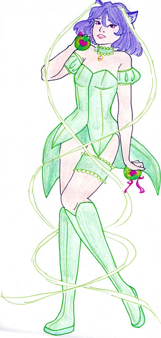 Sofia as Mew Mew Lettuce by Dragon Master