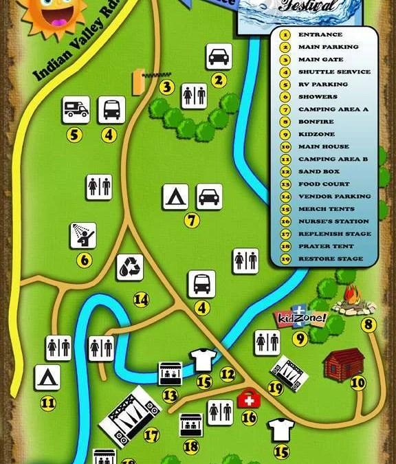 2016 Festival Map