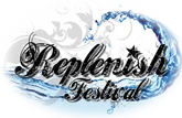 Replenish Festival Logo