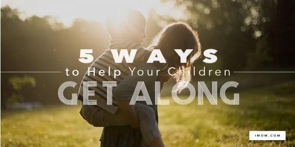 5 Ways To Help Kids Get Along
