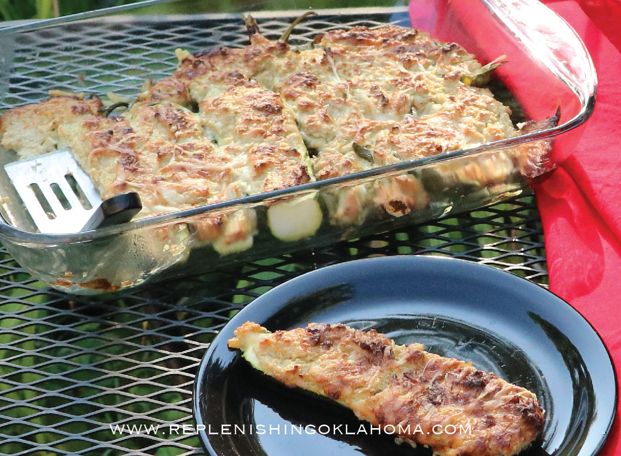 Zucchini Squash Recipes: Stuffed Summer Vegetables