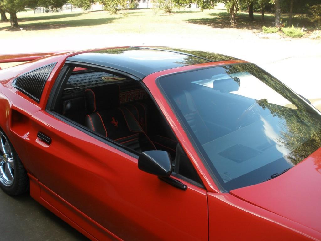 1986 Pontiac Fiero Ferrari Kit