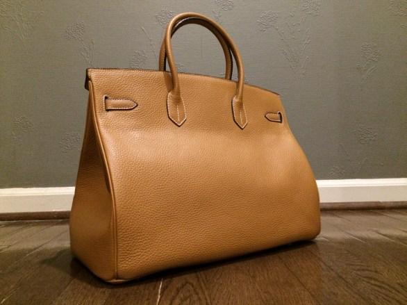 hermes birkin 40 backside on replica bag review
