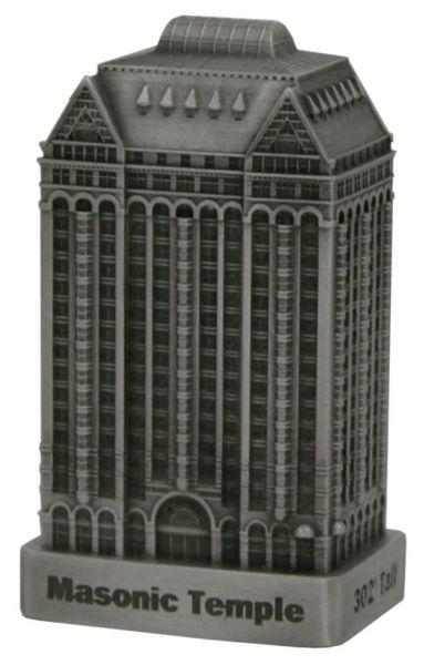 Replica Buildings InFocusTech Masonic Temple Building