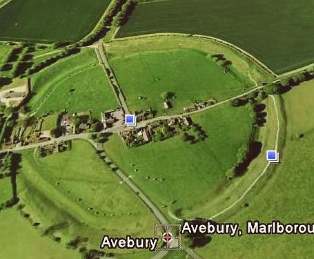 avebury-google-earth