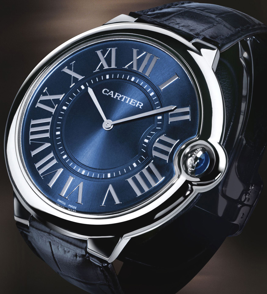 Carried Away by the Cartier Ballon Bleu de Cartier Watch 2011     This new brainchild of Cartier
