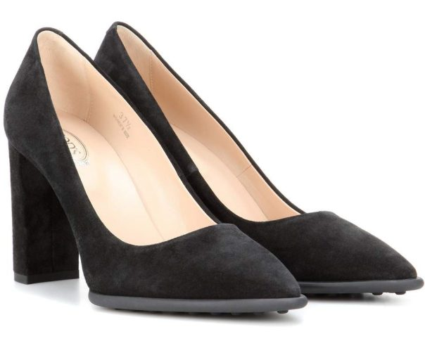 duchess of cambridge tods chunky heel