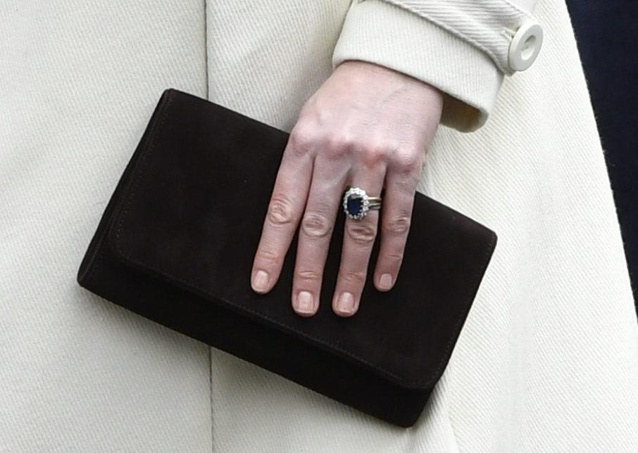 Emmy brown 'Natasha' clutch