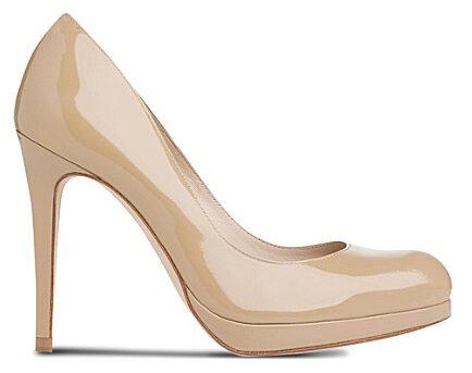 LK Bennett Sledge leather court heels