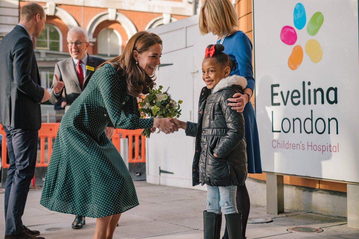 Duchess of Cambridge continues festive attire in green LK Bennett