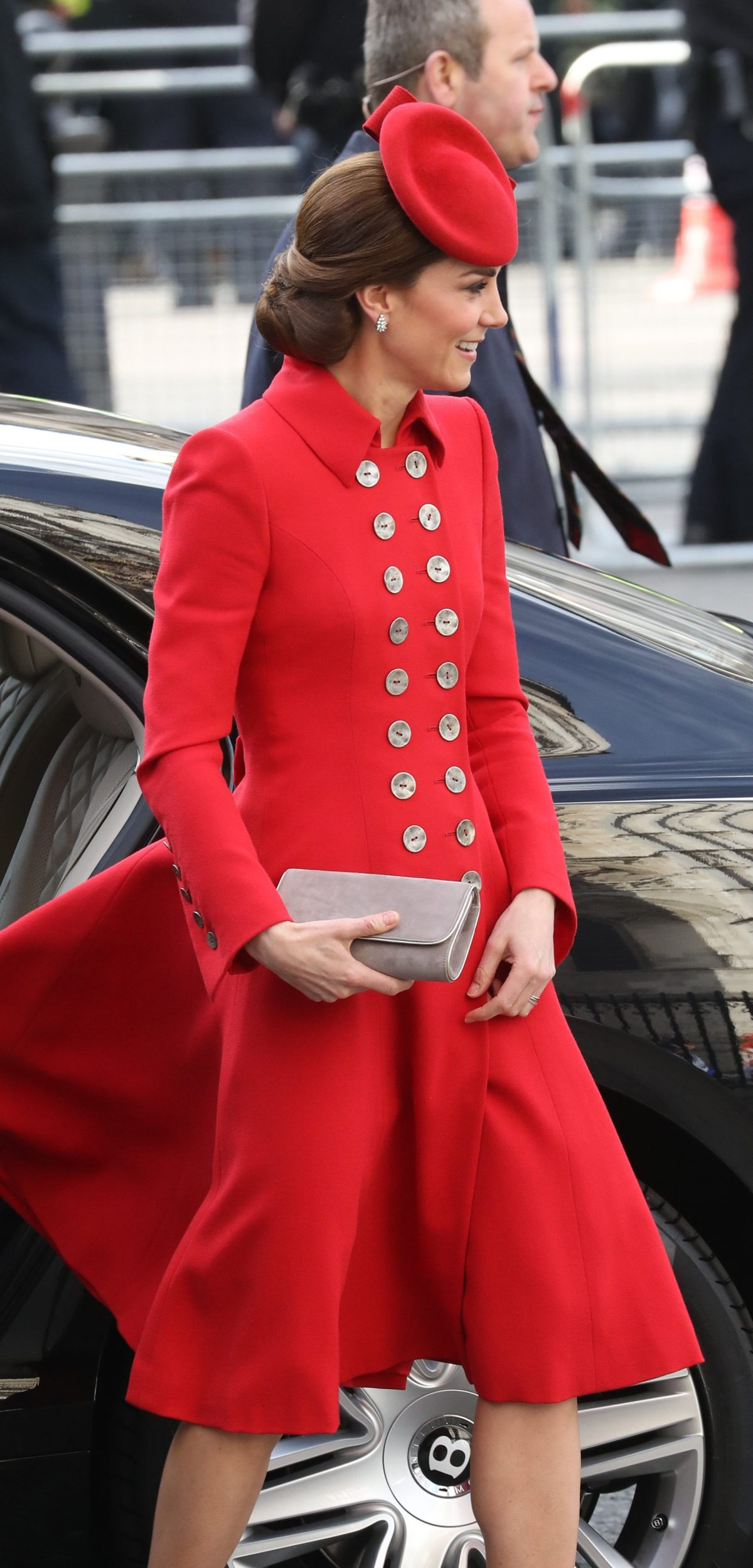 Image licensed to i-Images Picture Agency. 11/03/2019. London, United Kingdom. Royals arriving at a Commonwealth Day service at Westminster Abbey in London.  Picture by Stephen Lock / i-Images