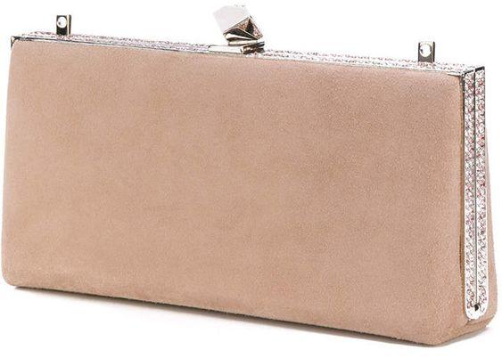 Jimmy Choo ballet pink 'Celeste' clutch