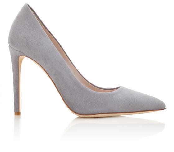 Emmy 'Rebecca' heels in steel grey