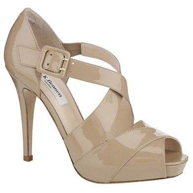 LK Bennett 'Silver' sandals