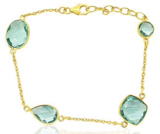 Heavenly Necklaces aquamarine necklace