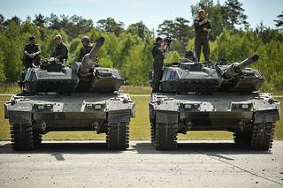 Danish Army at Grafenwoehr