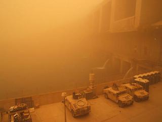 Sandstorm at the Dam